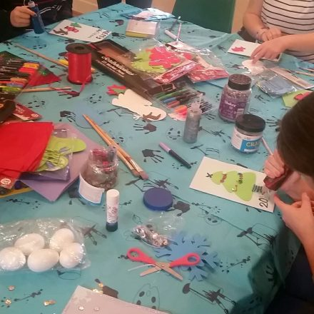 Our girls getting creative at Young Women's Hub, Lewisham